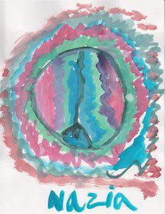 Nazia's Peace Sign