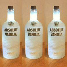 Für das Bottlelight eine ganze Flasche #Vodka trinken? Wenn schon nur an einem #Freitag