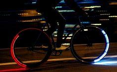 Lumière LED pour le vélo