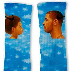 Drake Custom Nike Elite Socks Pinterest:XunbotheredX
