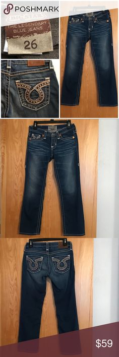 Big Star Crop Jeans - 26 Big Star Crop Jeans - 26 - Worn a few times, excellent condition. 26 Inch Inseam Length Big Star Jeans Ankle & Cropped