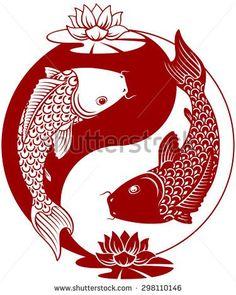 stock-vector-yin-yang-koi-fish-vector-illustration-298110146.jpg (375×470)