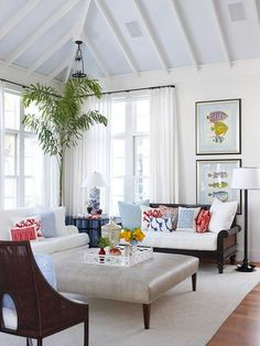 How to show exposed beams