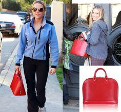 Louis Vuitton Red Epi Alma Handbag Tote Bag http://www.garo-luxury.com/?pid=1071483