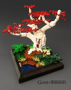 Lego Game Of Thrones: Godswood Wierwood Tree