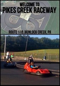 Pikes Creek Raceway in Hunlocks Creek, PA 18621 | Buy 1 Go-Kart Ride, Mini Golf, & Hot Dog Package for $15 & Get 1 FREE at Pikes Creek Raceway! | ReferLocal