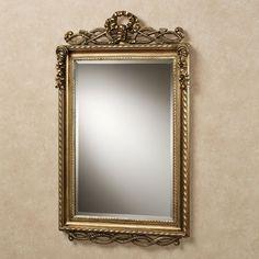 Lancaster Twist Design Rectangular Wall Mirror