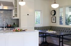 Swan Kitchen and Dining Room - traditional - Kitchen - Los Angeles - Design Vidal