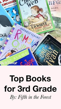Top Chapter Books for 3rd Grade
