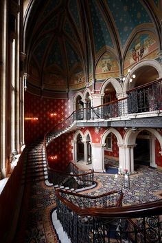 St Pancras Renaissance Hotel - Grand Staircase [7389] | Flickr - Photo Sharing!