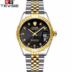 21.98$  Watch now - http://alivpd.shopchina.info/go.php?t=32616118639 - Tevise 2017 Steampunk Men Men's Roman Number Day Watch Automatic Mechanical Watches Gift Box Free Ship  #magazineonlinewebsite