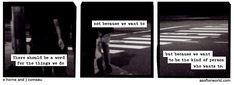 A Softer World: In bed.