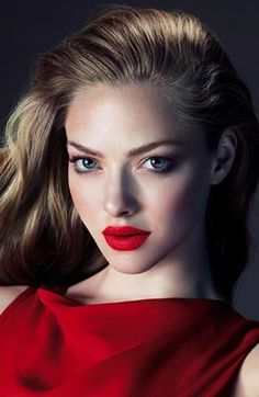 Make-up inspiration: Amanda Seyfried Red Lip