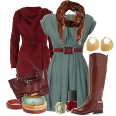 Alexander McQueen Patchwork Scarf in Fall Outfit