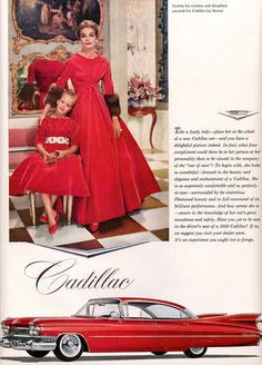 Vintage Cadillac Ad  - Everett Chevrolet Buick GMC Cadillac http://www.everettchevy.com