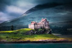 Duart Castle on Mull guards a shipwreck of one of Cromwell's ships