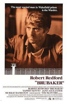 ROBERT redford BRUBAKER movie poster WAKEFIED PRISON warden gritty 24X36 Brand New. 24x36 inches. Will ship in a tube. Reproduction of aged original vintage art print. Great wall decor art print at a