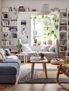 Muebles que dejan pasar la luz