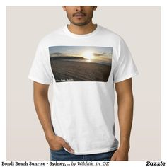 Shop Bondi Beach Sunrise - Sydney, Australia T-Shirt created by Wildlife_in_OZ. Personalize it with photos & text or purchase as is! Hawaii Surf, California Surf, Bondi Beach, Fishing T Shirts, Monte Carlo, Shirt Style, Sydney Australia, Sailing, Beach Sunrise