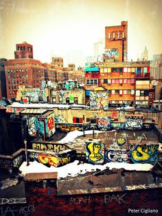 NYC Graffiti. The Real Deal!=