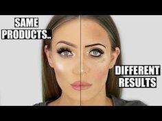 Maquillarse bien vs. maquillarse mal