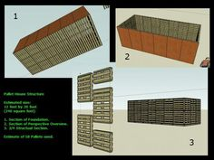 Pallet House Structure