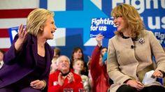 Hillary and Gabby