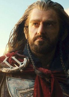 Richard Armitage as Thorin Oakenshield..from the second film  The Hobbit, the Desolation of Smaug.  New armour...from Under the Mountain?