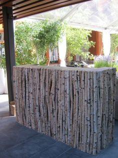 green victorian birch | Silver Birch Wedding Decor Whistler Wedding White Birch Pole Bar