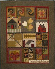 Cottage Sampler - Block of the Month