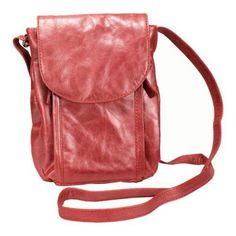 Selma Mimi in Memphis Crossbody Bag Color: Rose. 7990RSE Color: Rose Features: -Interior features a back wall credit card organizer. -Front flapover with a magnetic snap closure. -Fabric lined interior. -1 Year for manufacturing defects with proof-of-purchase. Product Type: -Shoulder Bag. Material: -Leather. Strap or Handle Style: -Cross-Body. Closures: -Flap-Over Top/Magnetic/Snap Closure. Color: -Brown. Color: -Green. Color: -Navy. Color: -Orange. Size: -Medium. Pattern: -Solid…