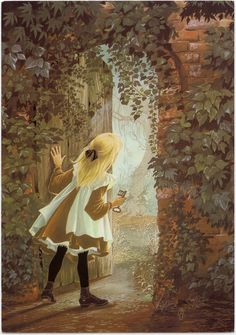 Janet and Anne Grahame-Johnstone  ****I felt a bit like Alice must have felt, when I opened that creaky wooden door.  The air inside the stone cottage felt cool and smelled musty, as if no one had been there in a long long time....Njoy<><