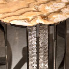638ca05ffc2 Luxury Murano Glass Side Table