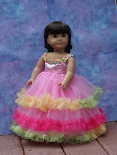 Fantasy gown for your American Girl doll by CarmelinaCreations