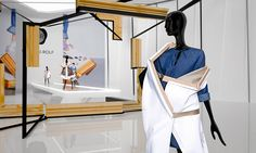 Viktor&Rolf - showroom on Behance