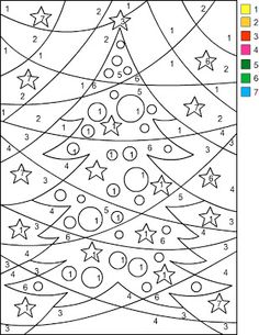 nicoles free coloring pages christmas color by number i copy and paste the - Free Pictures To Colour