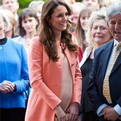 Kate Middleton enceinte du Prince George.