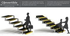 계단과 경사로, Convertable.