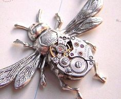 Steampunk bee.
