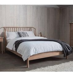 Hudson Living Wycombe Luxury Oak Bed -  Modish Living Reclaimed wood bed