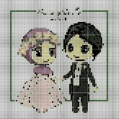 Wedding Cross Stitch, Perler Beads, Cross Stitch Embroidery, Projects To Try, Tapestry, Couture, Floral, Anime, Blog