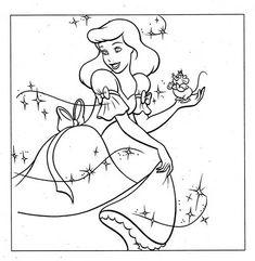 50 Desenhos de Princesas para Colorir/Pintar!