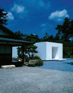 White Temple, near Kyoto, Japan, by Takashi Yamaguchi & Associates.  A sacred Buddhist space for honoring maternal ancestors.