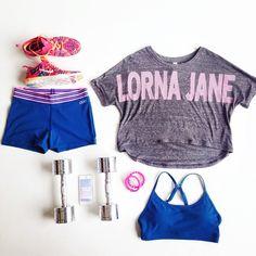 #ljfitlist #lornajane Active flatlay