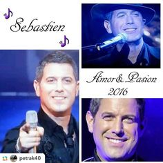 Fantastic collage from @petrak40  @petrak40:Sebastien Izambard #Il Divo #amorypasion#tour2016 #ildivo #sebdivo #photo from video #youtube  #thank you ...