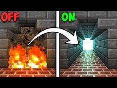 Fully Hidden Fireplace Entrance! - Minecraft Tutorial - YouTube
