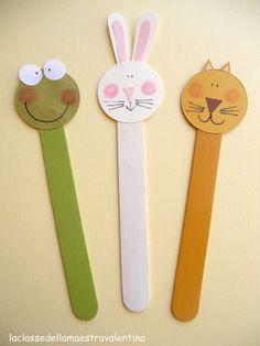 DIY Popsicle animals  - La classe della maestra Valentina