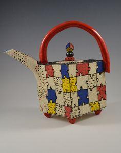 Puzzle Teapot: