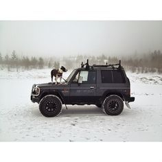 my ride. Mitsubishi Pajero #jumpintomyfantasywagon