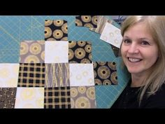 Part 2: Finishing up the Jagged Edge Table Runner with Sparkle from Robert Kaufman - YouTube